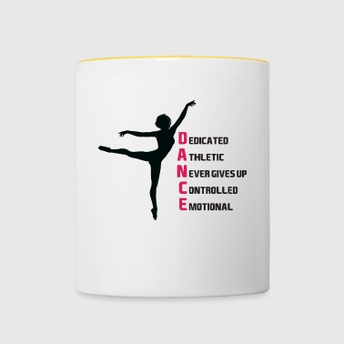 Dancing motivation - Contrasting Mug