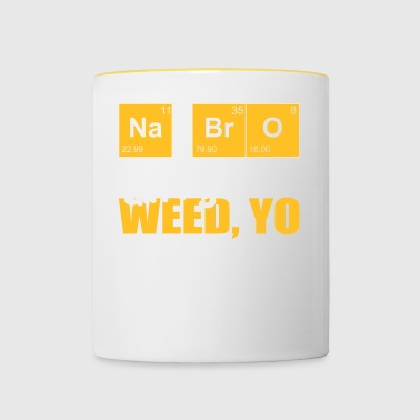 Chemistry student and science fans drugs - Contrasting Mug