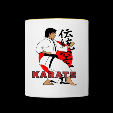 TRADITIONAL KARATE - Contrasting Mug