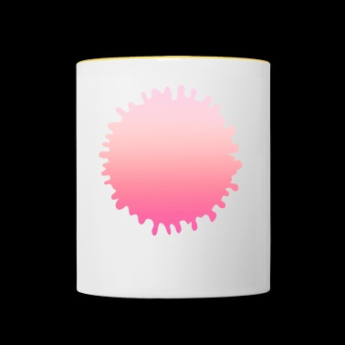 Simple design rose simple - Mug contrasté