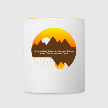 The happiest moment - Contrasting Mug