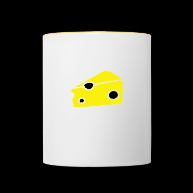 Fromage au fromage - Mug contrasté