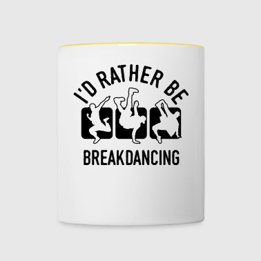 Breakdancer breakdances breakdance chemise cool - Mug contrasté