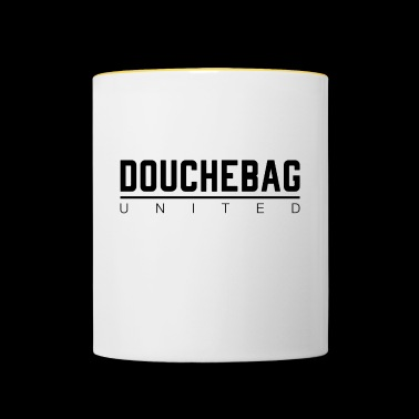 DOUCHEBAG UNITED - Mug contrasté