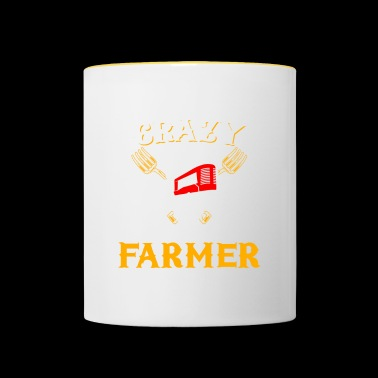 Tractor Shirt · Agriculture · It helps - Contrasting Mug