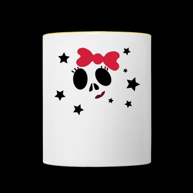 Girly Skull - Mug contrasté