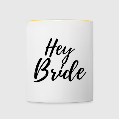 Hey Bride - Tasse bicolore