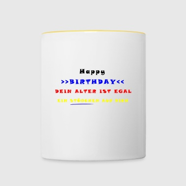 HAPPY BIRTHDAY - Mug contrasté