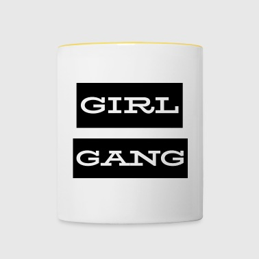 Girl Gang - Mok tweekleurig