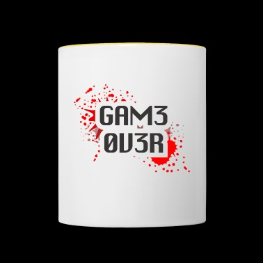 game over - Taza en dos colores
