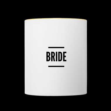 Bride, hen party - Contrasting Mug