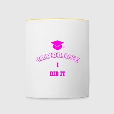 CAMBRIDGE Student Memories - Mug contrasté