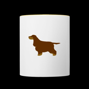 Cocker Spaniel (Liver and Tan) - Contrasting Mug