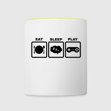 Eating Sleep Play - Contrasting Mug