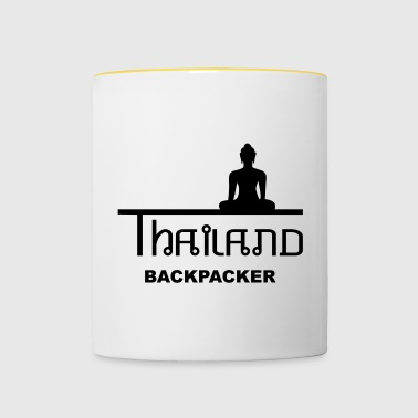 Thailandia Backpacker Asia Buddha - Tazze bicolor