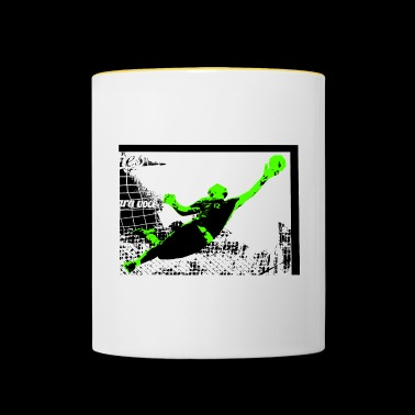Soccer Footballer Goalkeeper Goalkeeper New - Contrasting Mug