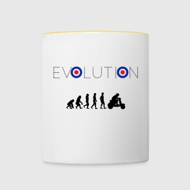 Evolution scooter - Contrasting Mug