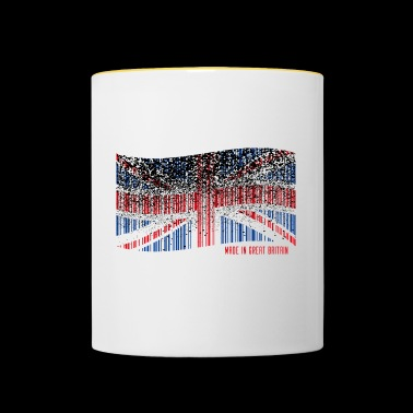 Made in Great Britain - Kubek dwukolorowy