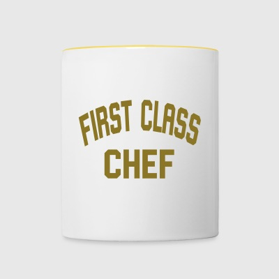 First Class Chef - Contrasting Mug