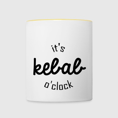 It's kebab o clock - Mug contrasté