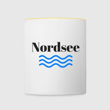 North Sea - Contrasting Mug