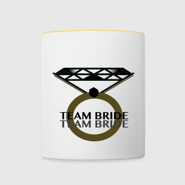 TEAM BRIDE - Mok tweekleurig