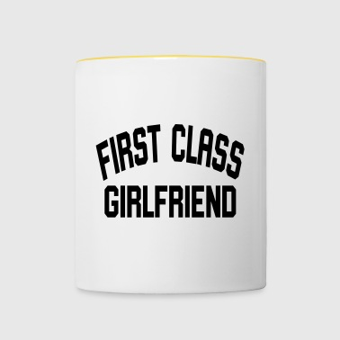 First Class Girlfriend - Contrasting Mug