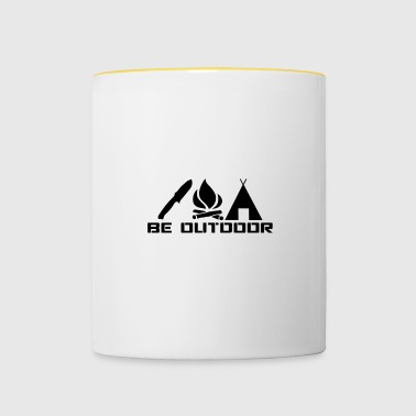 Be outdoor - Contrasting Mug