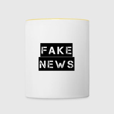 Fake News - Messages erronés - Mug contrasté