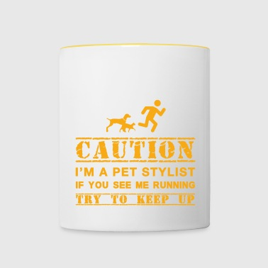pet stylist - Contrasting Mug