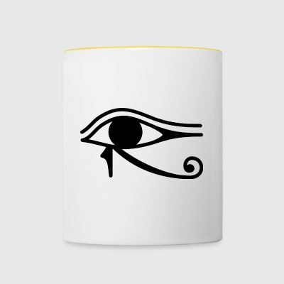 Eye of Horus - Kubek dwukolorowy