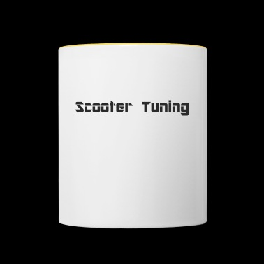 S.cooter tuning - Contrasting Mug