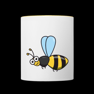 Bee honey bee - Contrasting Mug