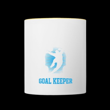 Goalkeeper The best goalkeeper - Contrasting Mug