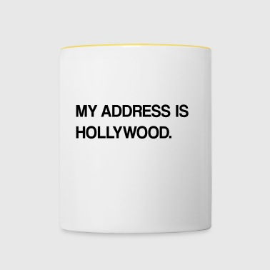 conception hollywood - Tasse bicolore