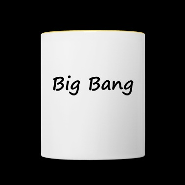 big bang - Mug contrasté