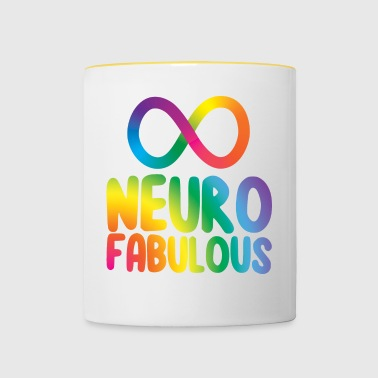 Neurofabulous - Mok tweekleurig