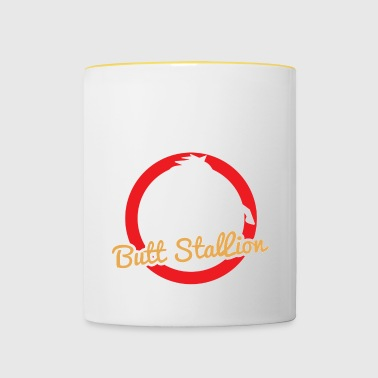 Horse / Farmhouse: Butt Stallion - Contrasting Mug