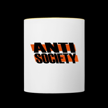 Anti Society - Tazze bicolor
