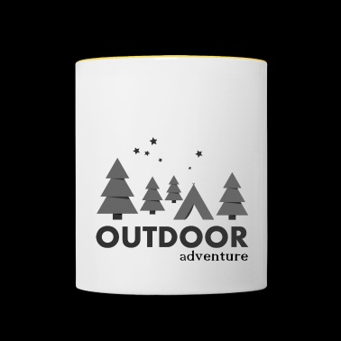 Outdoor Adventure Camp - Mug contrasté