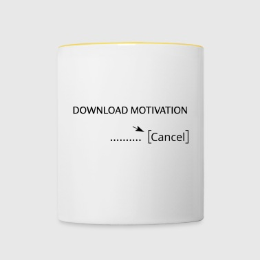 télécharger motivation - Mug contrasté