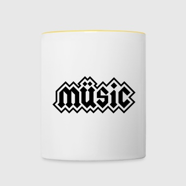 Heavy Metal Music - Contrasting Mug