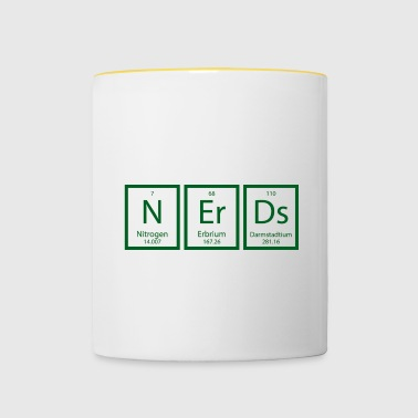 Periodic table: Nerds - Contrasting Mug