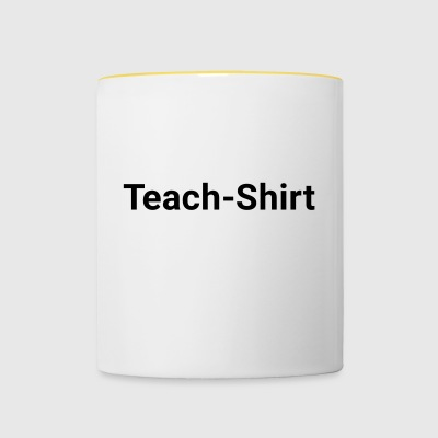 Teach-shirt - Mok tweekleurig