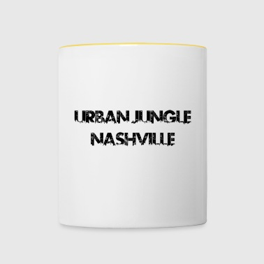 Urban Jungle - Nashville - Tasse zweifarbig