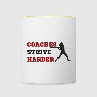 Coach / Coach: Coaches Strive Harder - Contrasting Mug