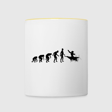 Shrimp Cowboy - The Shrimp Rider - Contrasting Mug