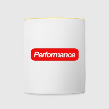 performance - Mug contrasté