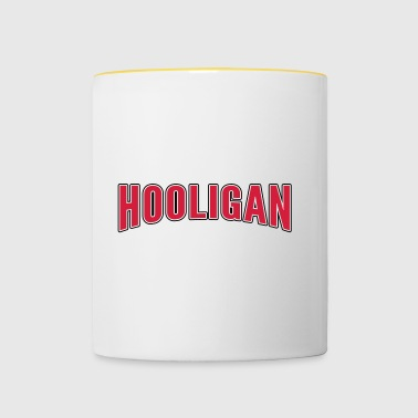 hooligan - Tasse bicolore
