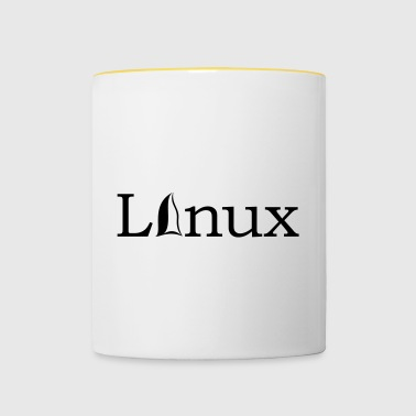 Linux Operating System Gift Idea IT IT Software - Contrasting Mug